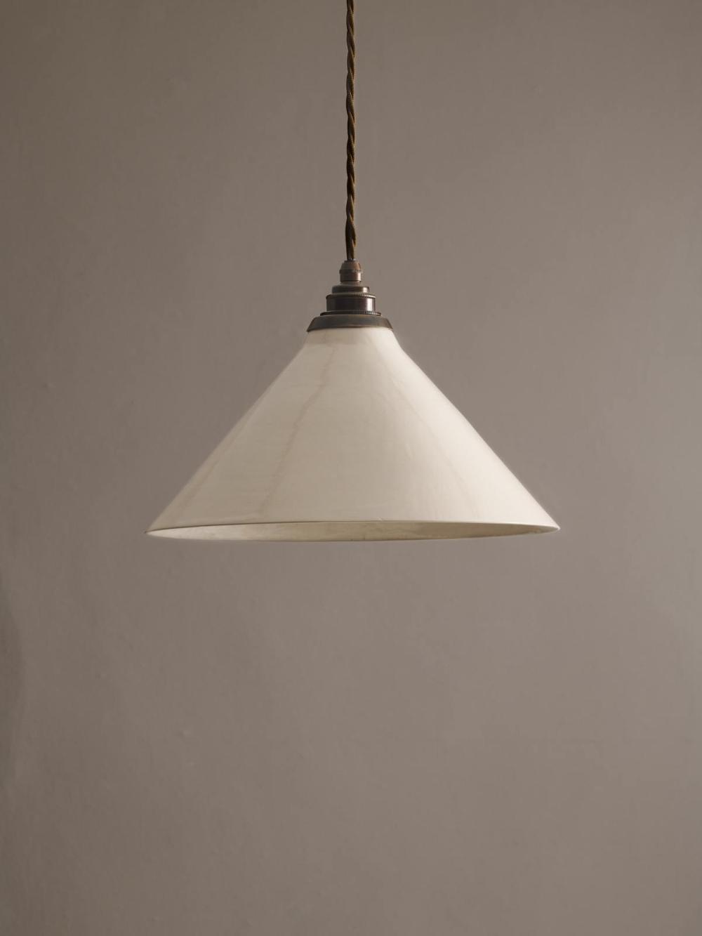 Large Creamware Pendant Light Devol Kitchens In 2020 Pendant Light Creamware Ceiling Rose