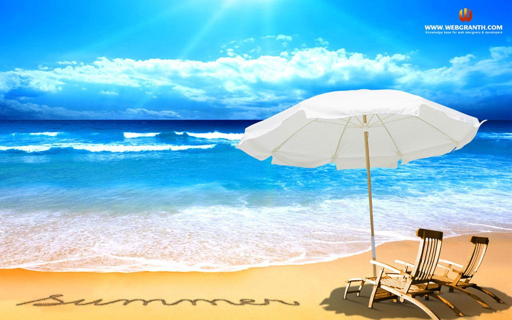 Summer Pictures For Desktop Beach Free Summer Desktop Wallpaper