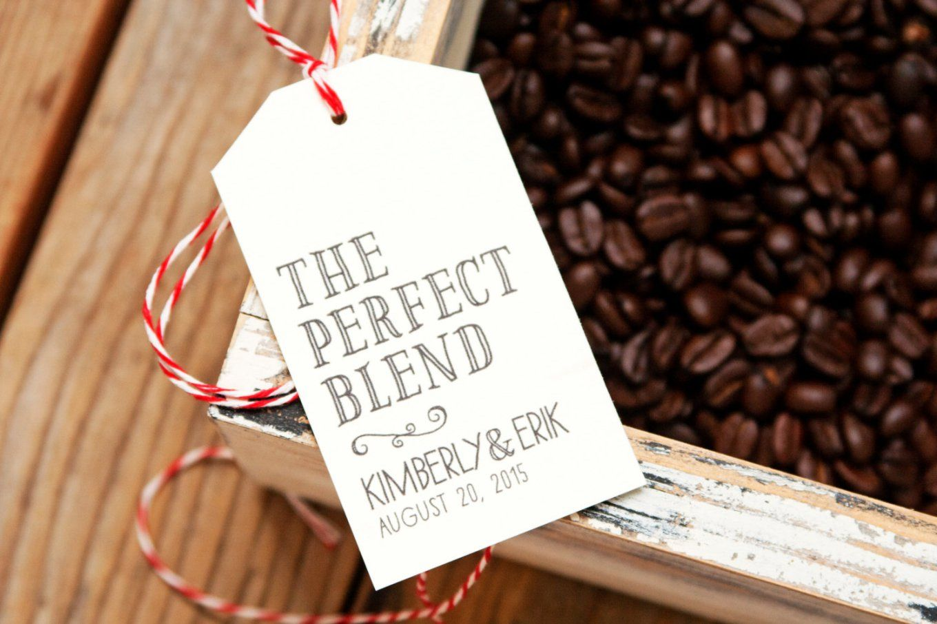 the perfect blend wedding favor tags | Personalizing Your Wedding ...