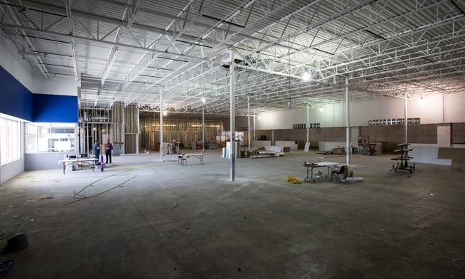 Old Loveland Officemax Has A Future In Fitness College Activities Fitness Trends Planet Fitness Workout