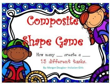 Perfect for students to practice composite shapes!
