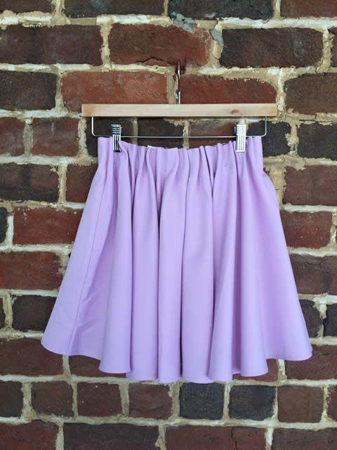 Everly Lavender Skirt $19