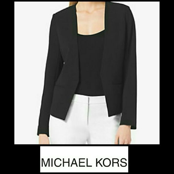 Michael Kors Blazer I do apologize for the poor lighting. This Michael Kors Blazer has only been worn once. No defects or flaws. Plus size Michael Kors Jackets & Coats Blazers