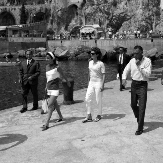 Gianni Agnelli e Jacqueline Kennedy, 1962. Amazing.
