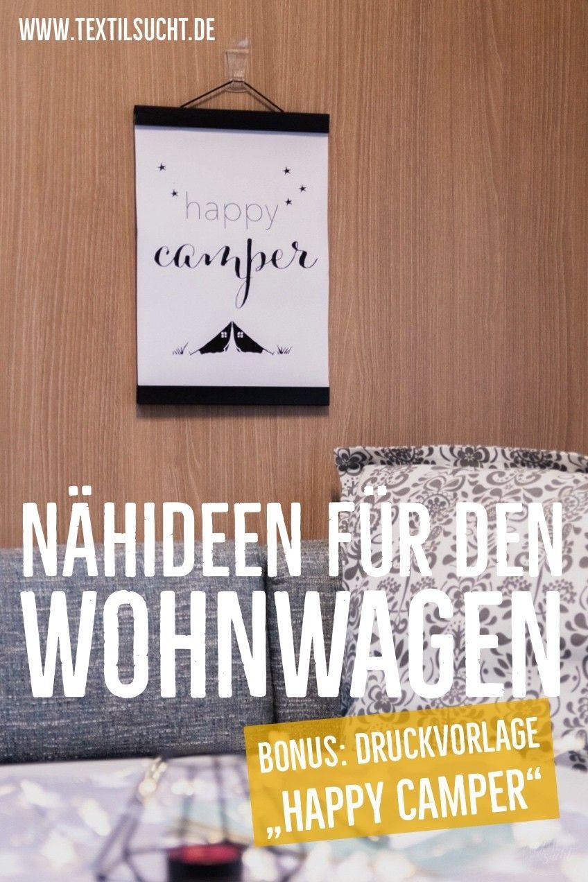 Photo of Nähideen für deinen Wohnwagen – inkl. kostenloser PDF Druckv…
