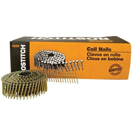 Bostitch C4r80bdg 1 1 2 Inch 15 Coil Siding Nails 4 200 Count Multicolor In 2019 Products Nails Us Nails Walmart