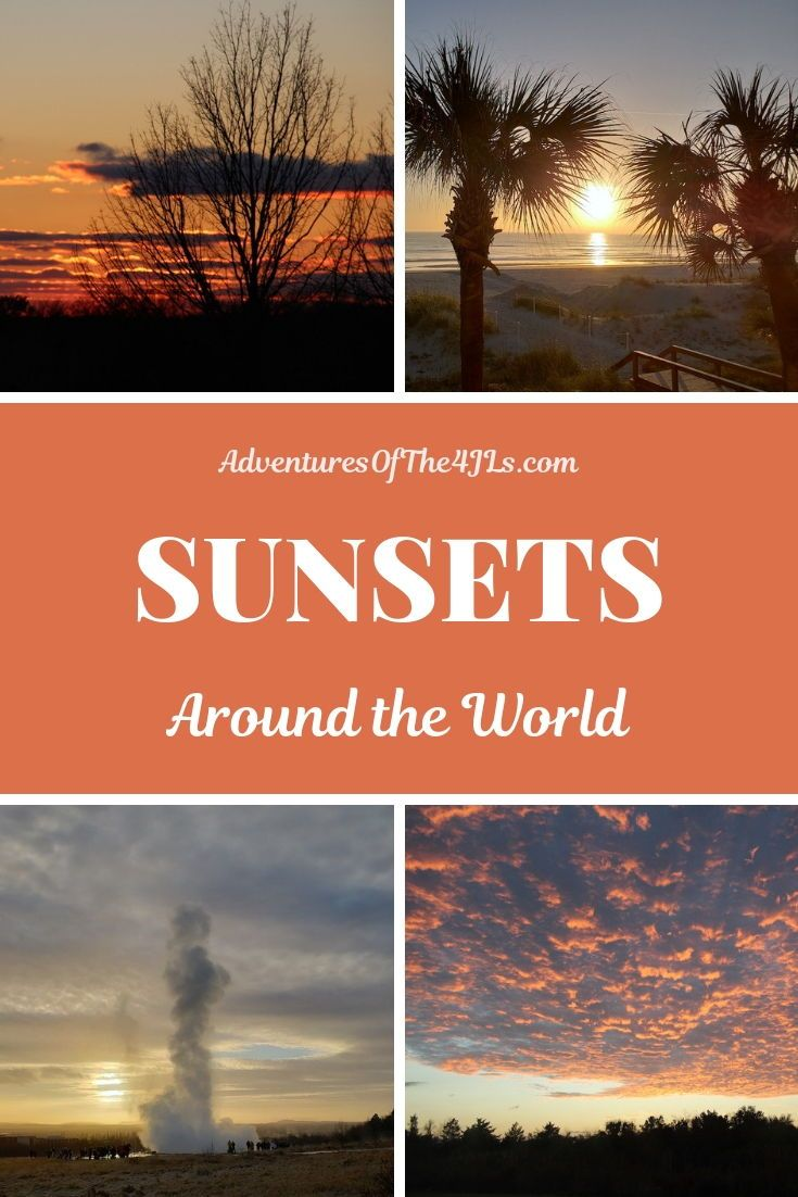 Around the World with Kids: Sunsets Sunsets Around the World. Join us in our family adventures as w