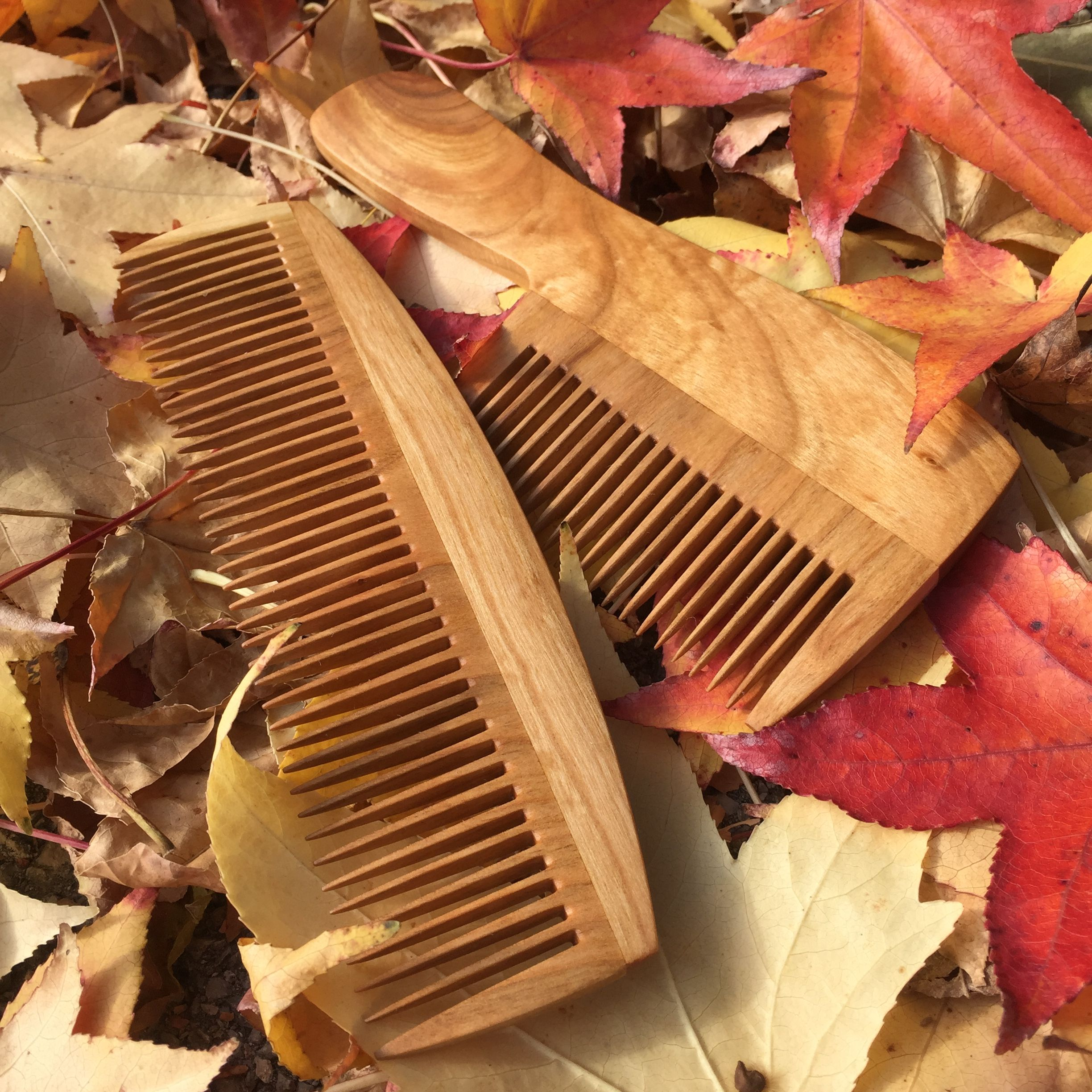 Handmade wooden comb a perfect gift for husband perfect