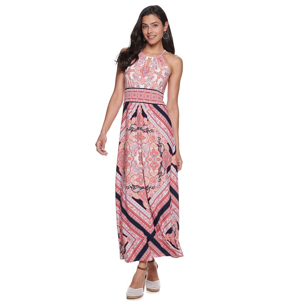 Petite Suite 7 Keyhole High Neck Maxi Dress High Neck Maxi Dress Maxi Dress Petite Maxi Dress [ 1024 x 1024 Pixel ]