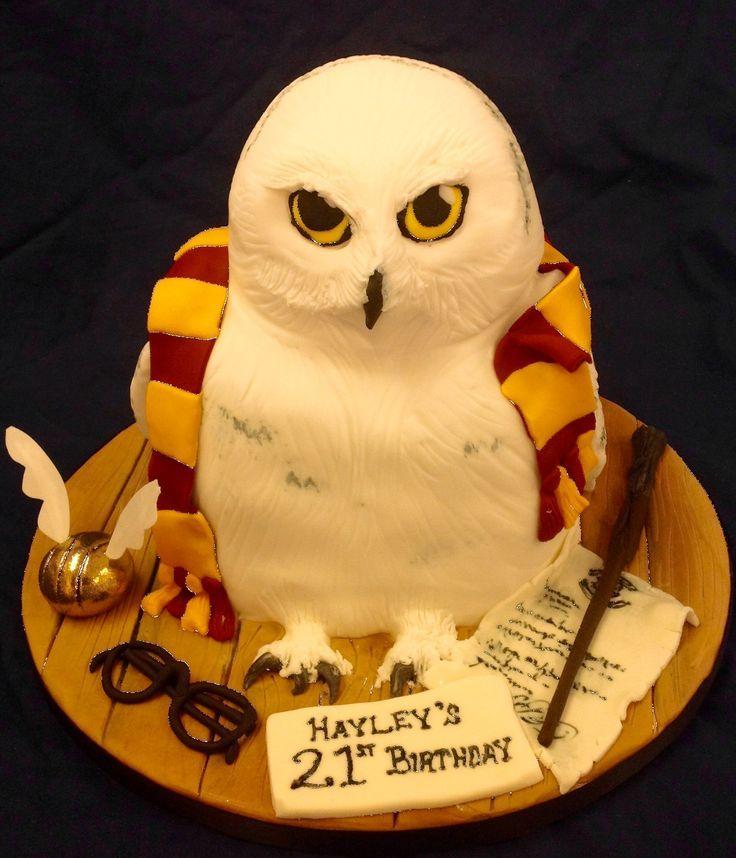 Harry Potter Owl Cake Ideas