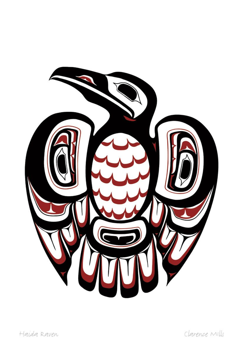 Cbabb Fd E B A Cdce on Tlingit Haida Animal Symbols