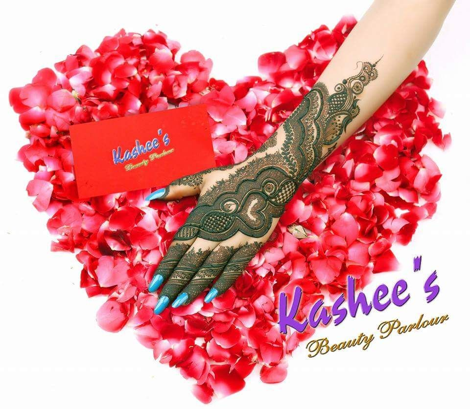 Mehndi design 2017 kashees - Designed By Kashee S Beauty Parlour