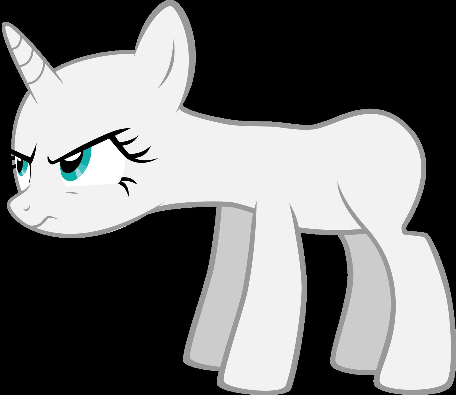 картинки пони без гривы единорога же, такие милые