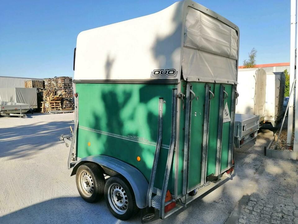 Pferdeanhanger Bockmann Duo Tuv Neu Baukahr 2002 In Sachsen Bautzen Gebrauchte Auto Anhanger Kaufen Ebay Kleinanz In 2020 Anhanger Kaufen Pferdeanhanger Bautzen