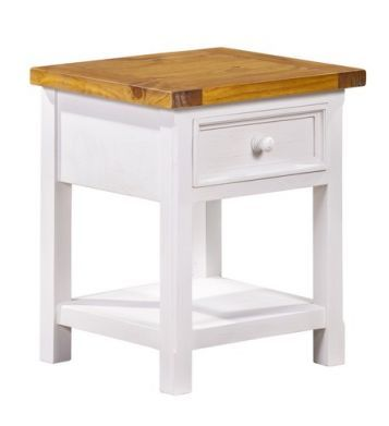 Tuscan Bedside Cabinet With 1 Drawer Bedside Cabinet Country