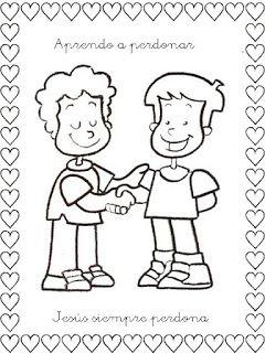 Sgblogosfera Amigos De Jesus Somos Amigos Respeto Dibujo Dibujos De Los Valores Frases Bonitas Para Amigos