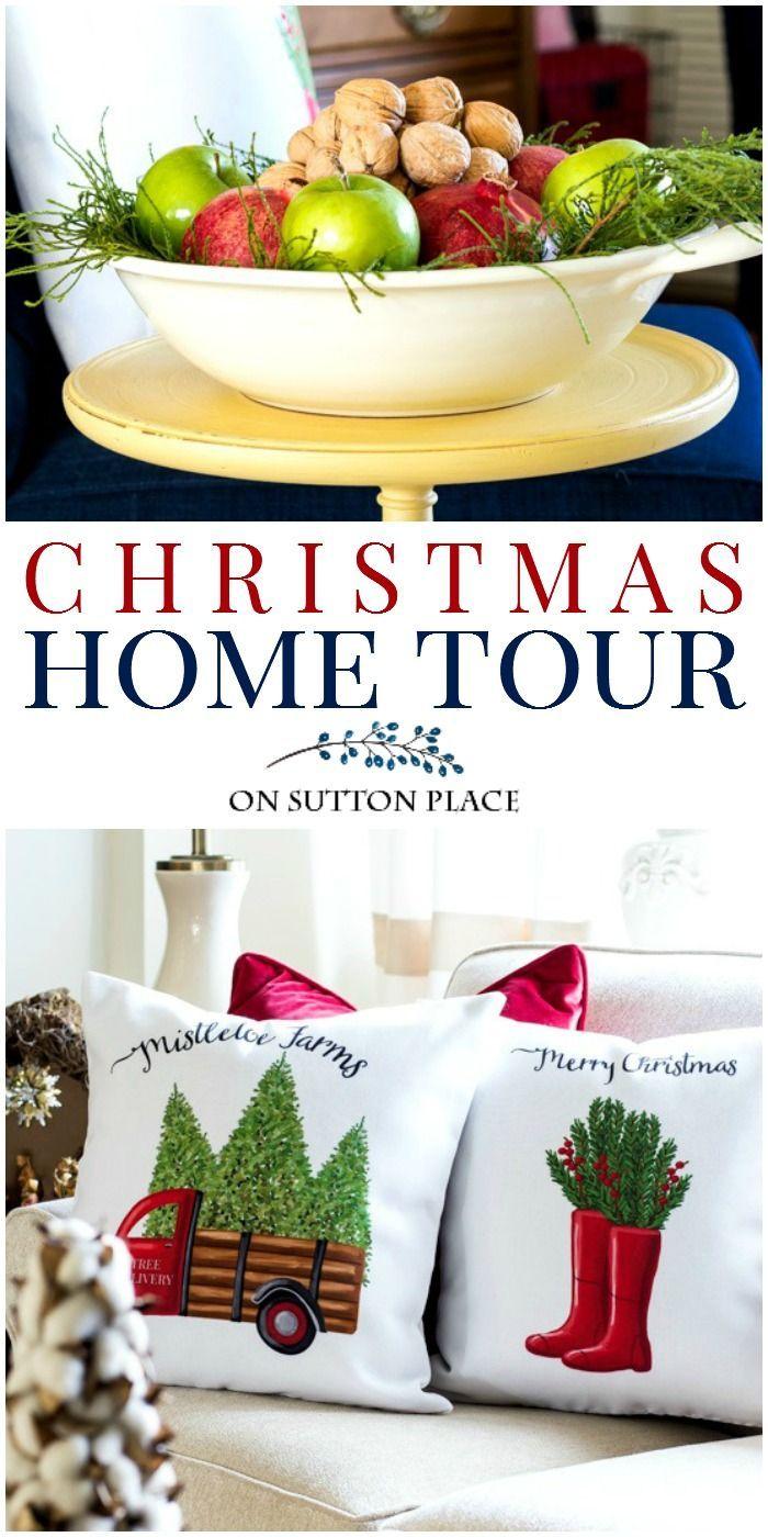 Take this Christmas home tour for easy & classic Christmas decor ...