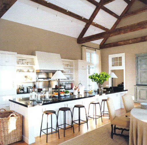 Kitchen Bar East Hampton: Barn Kitchen, Interior