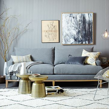 Montgomery DownFilled Sofa west elm for the home Pinterest
