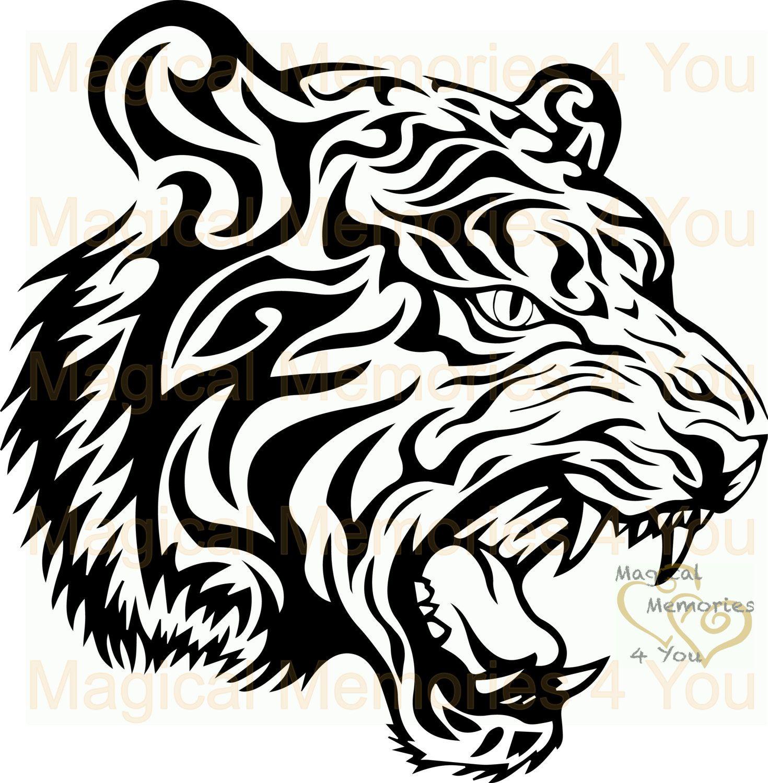 Tribal Tiger Down
