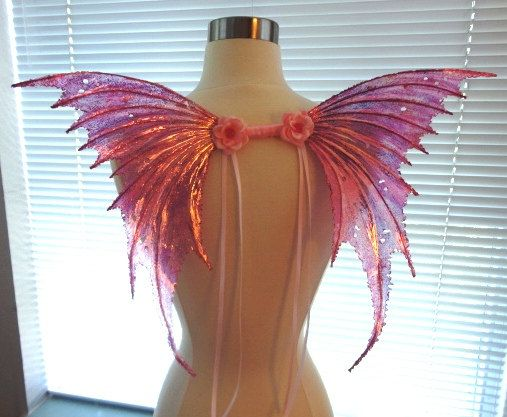Fairy Wings Pink Bubble Gum-for Adults and Children (Made to Order by Request)