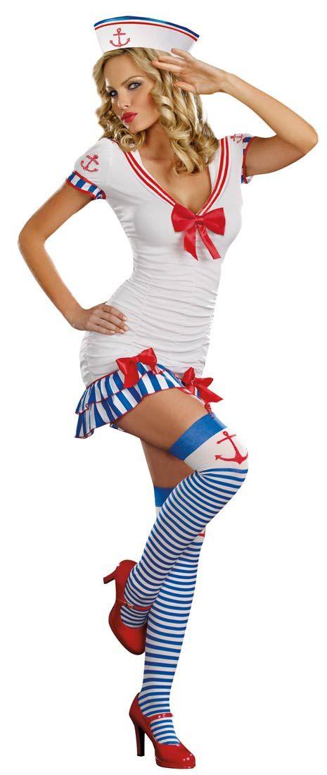 Sexy nautical costume