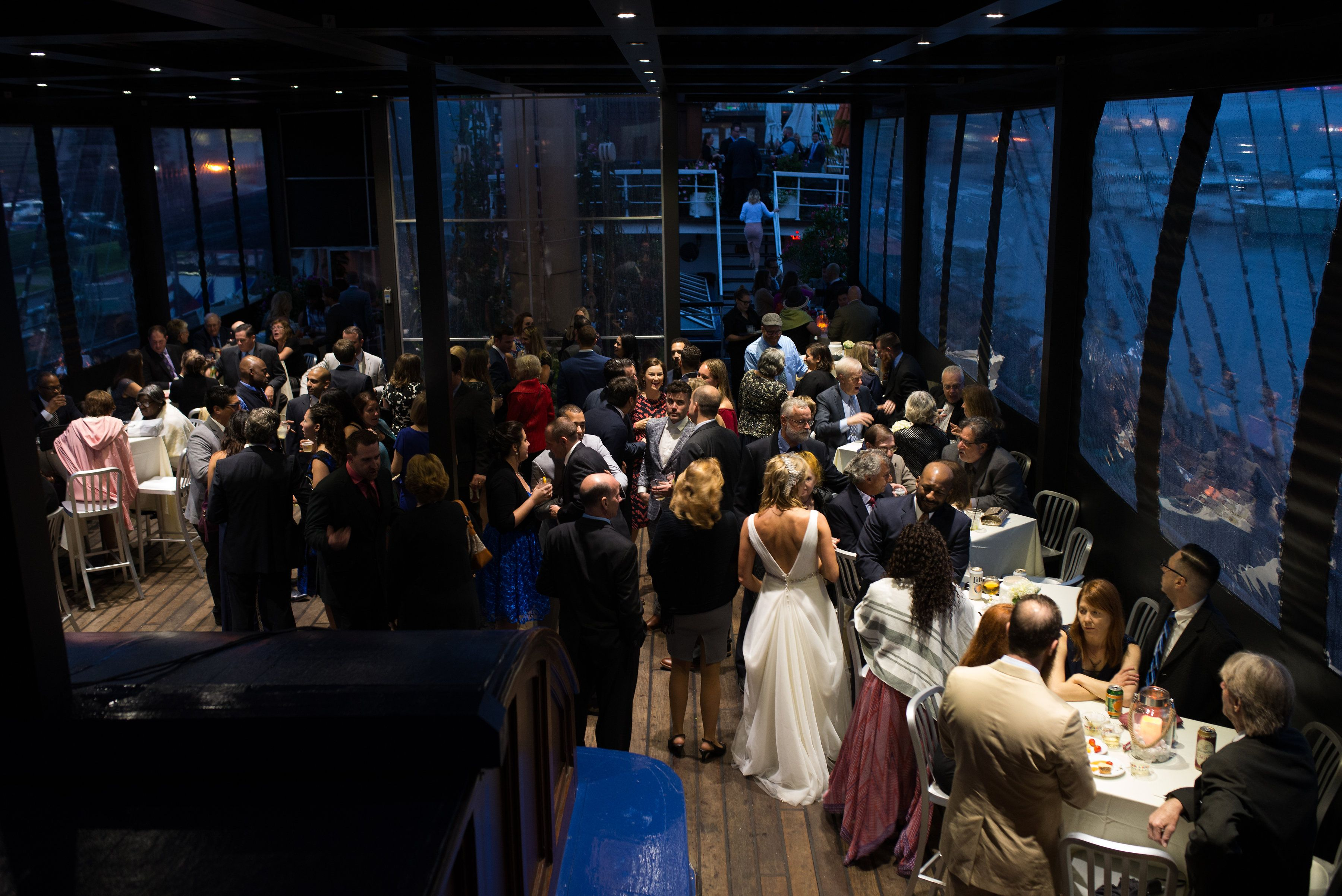 Mid Deck Covered Reception Event Space