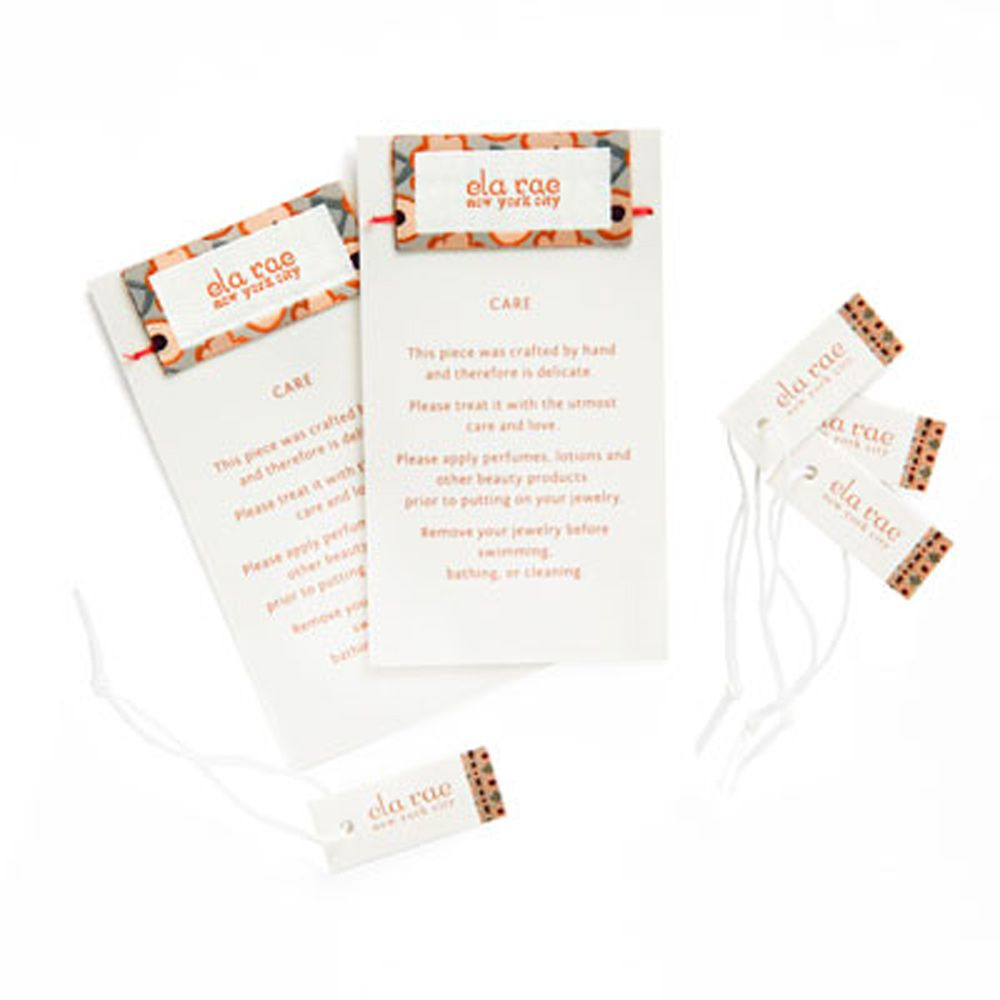 Clothing Hang Tags for Garments | CBF Labels woven labels ...