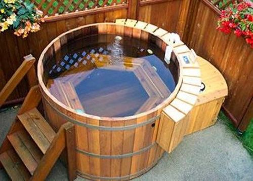 Jacuzzi :) do I want one outside or just in the master bath? as long im dreaming I guess both haha