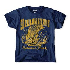 Yellowstone National Park Kids Tee