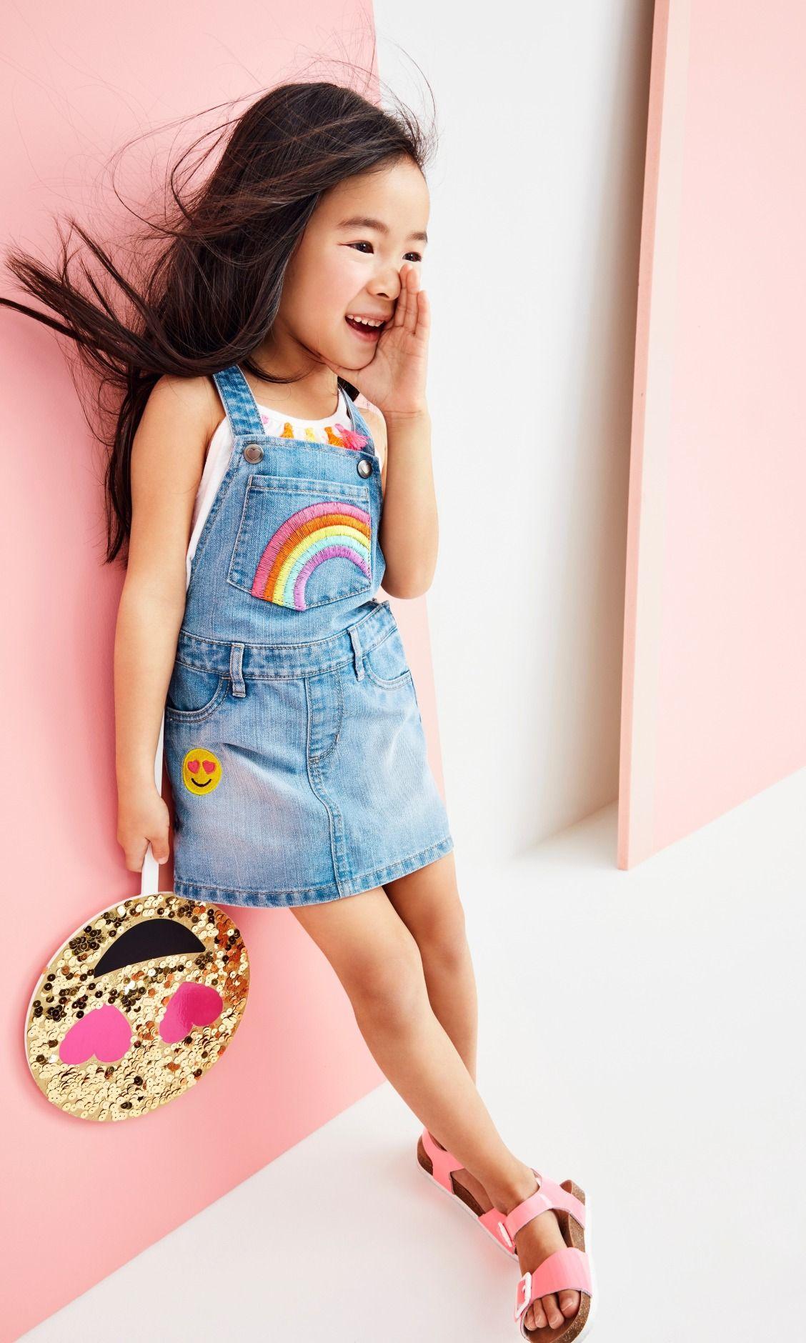 Pink dress emoji  Toddler girlsu fashion  Toddler girlsu clothes  Emoji patch
