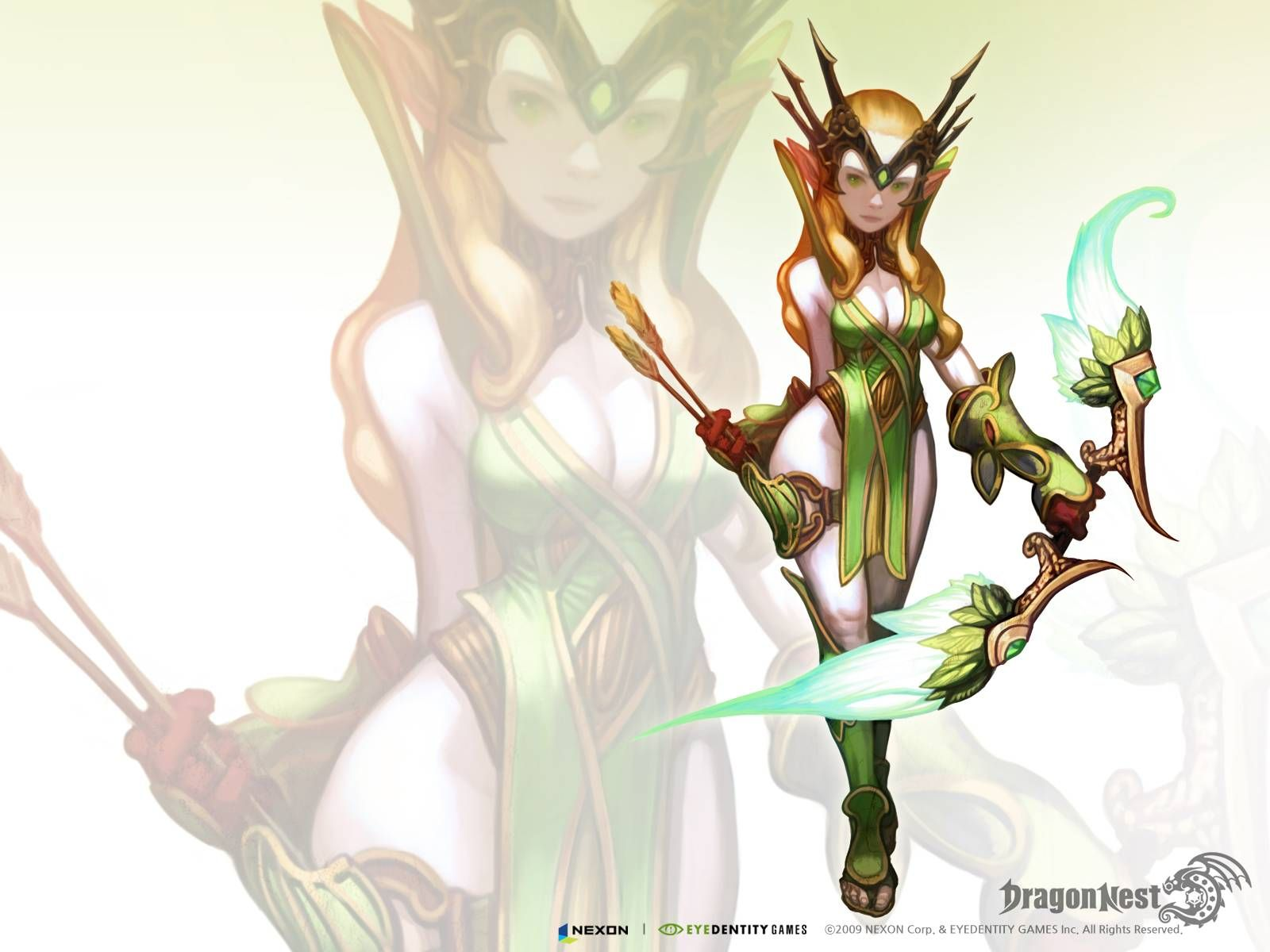 Wallpapers for nd Job Classes of Dragon Nest MMORPG News