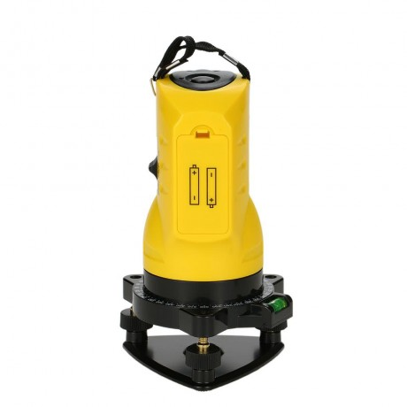 Household 2 Lines Cross Laser Level 360 Rotary Cross Line Leveling Can Be Used With Outdoor Receiver Vertical Horizontal Laser Levels Rotary Household Items