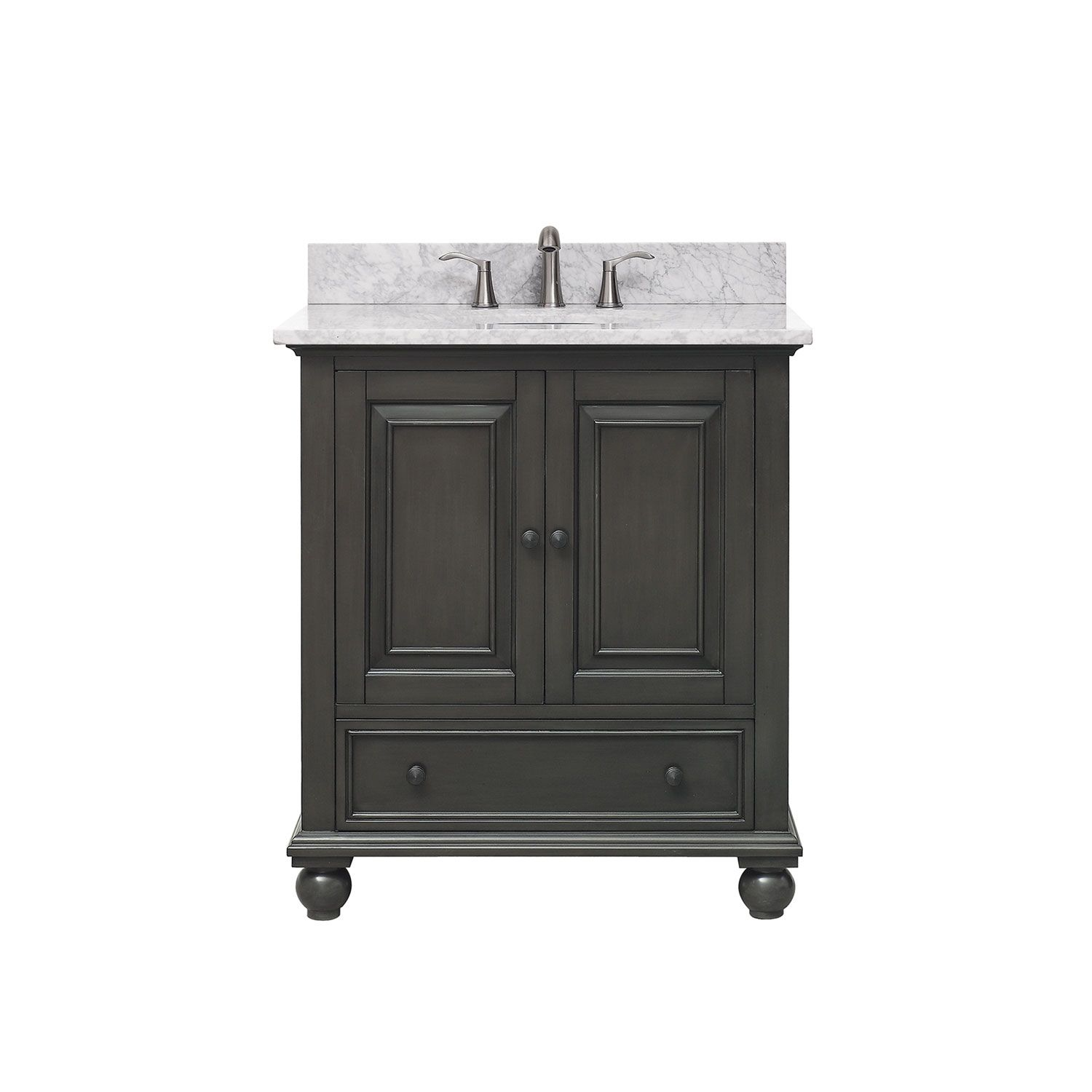 Avanity Thompson Charcoal Glaze 31 Inch Vanity Combo Thompson Vs30