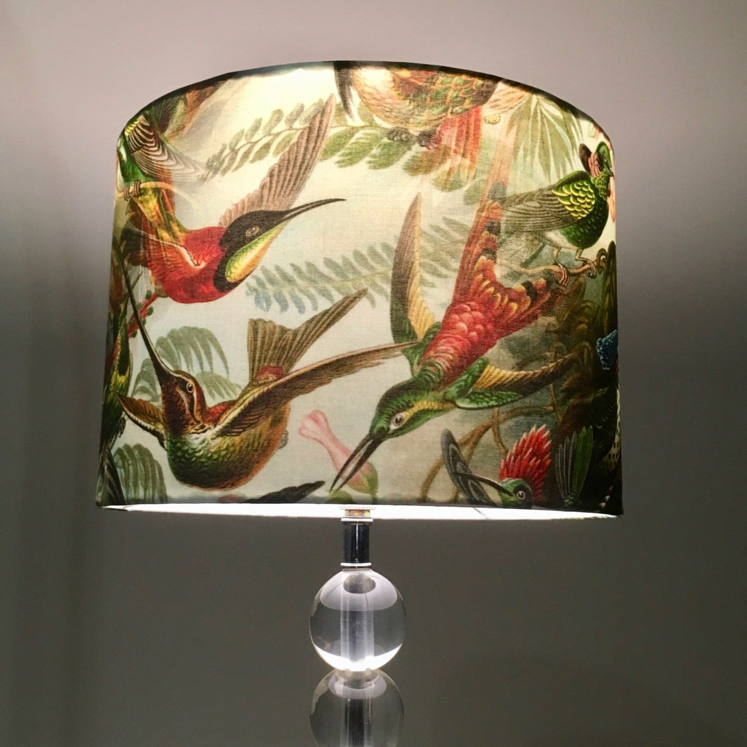 Hummingbird lamp shade bird lamp shade ernst haeckel hummingbirds hummingbird lamp shade bird lamp shade ernst haeckel hummingbirds lamp shade by rooelliestudio on etsy aloadofball