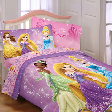 Disney Princess Reversible Comforter Twin Full Bedding