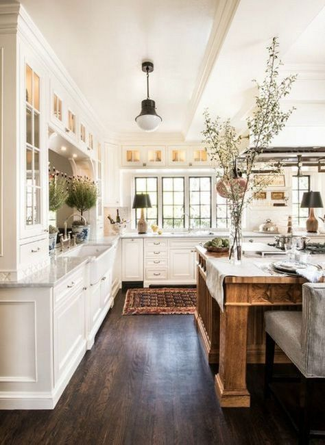 20 Farmhouse Kitchen Ideas On A Budget For 2018 Kitchen
