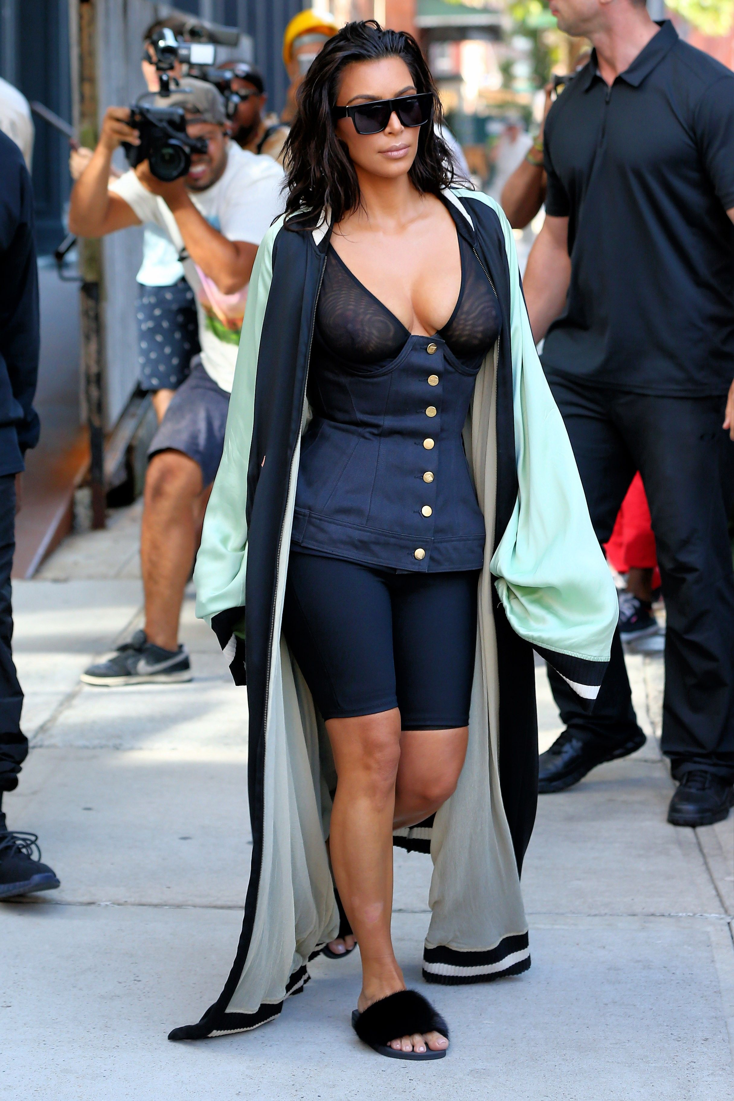 "d23f381c614fa9 Kim Kardashian Wore the ""Ugly"" Shoe Trend We re Obsessed With"