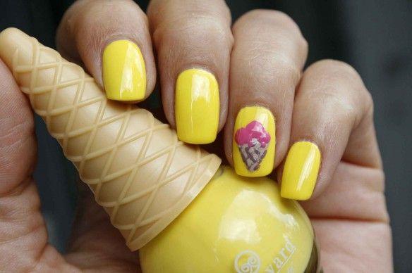Boulevard de Beauté nagellak ijshoorn flesje ice cone shaped nail polish bottle