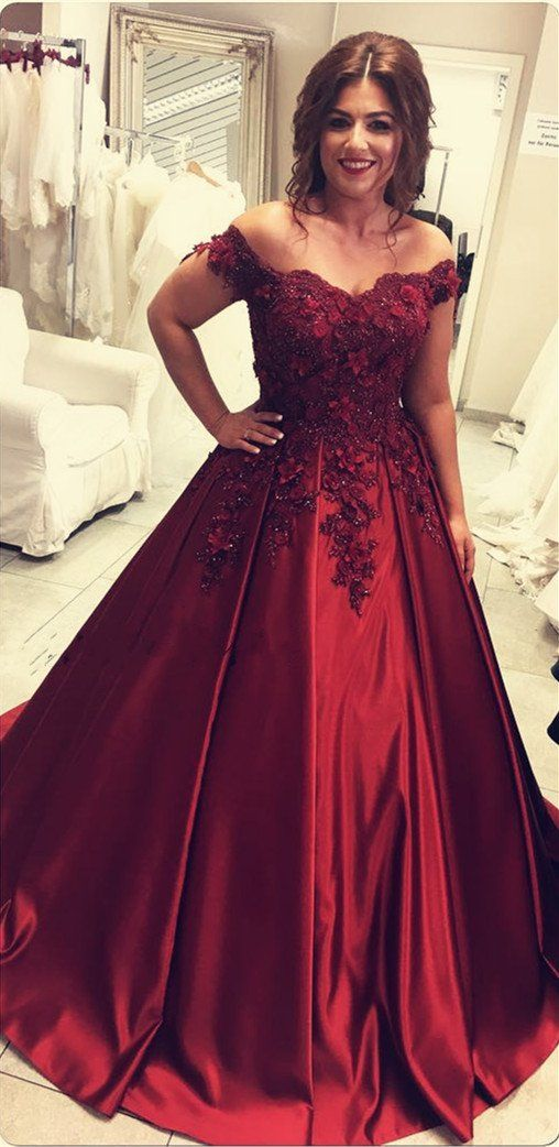 7585f099cfe Item Description   A Glamorous Formal Fit Satin Dress With V-neck And Off  The Shoulder Neckline.gorgeous lace flower beaded with strings back which  makes it ...