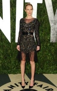 Enamored with this Prabal Gurung number, worn by Kate Bosworth at the Vanity Fair #Oscar Party. #fashion #celebrity
