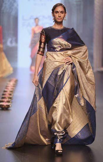 Photo of 11 Latest Designer Sarees for 2017 | Top Wedding Saree Trends