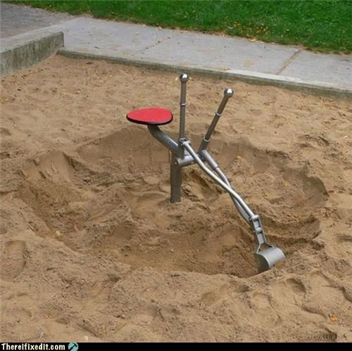 playground digger things.