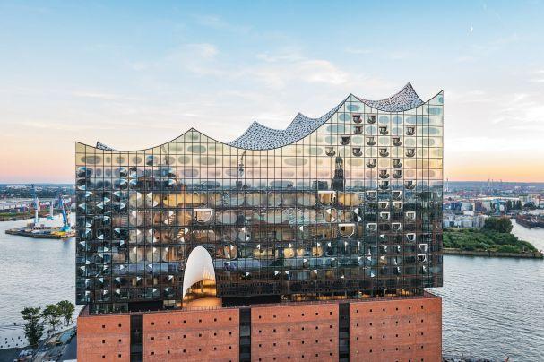 Eroffnung Der Elbphilharmonie Hamburg Hafen City Architektur