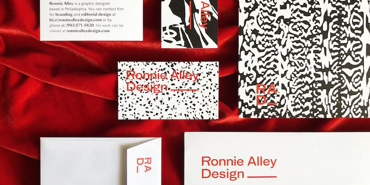 Customisable square business cards business card