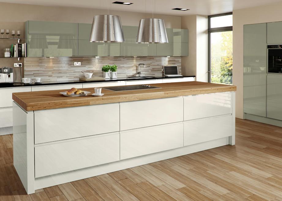 Kitchen Ideas Cream Gloss high gloss kitchens - mastercraft kitchens | kitchens | pinterest