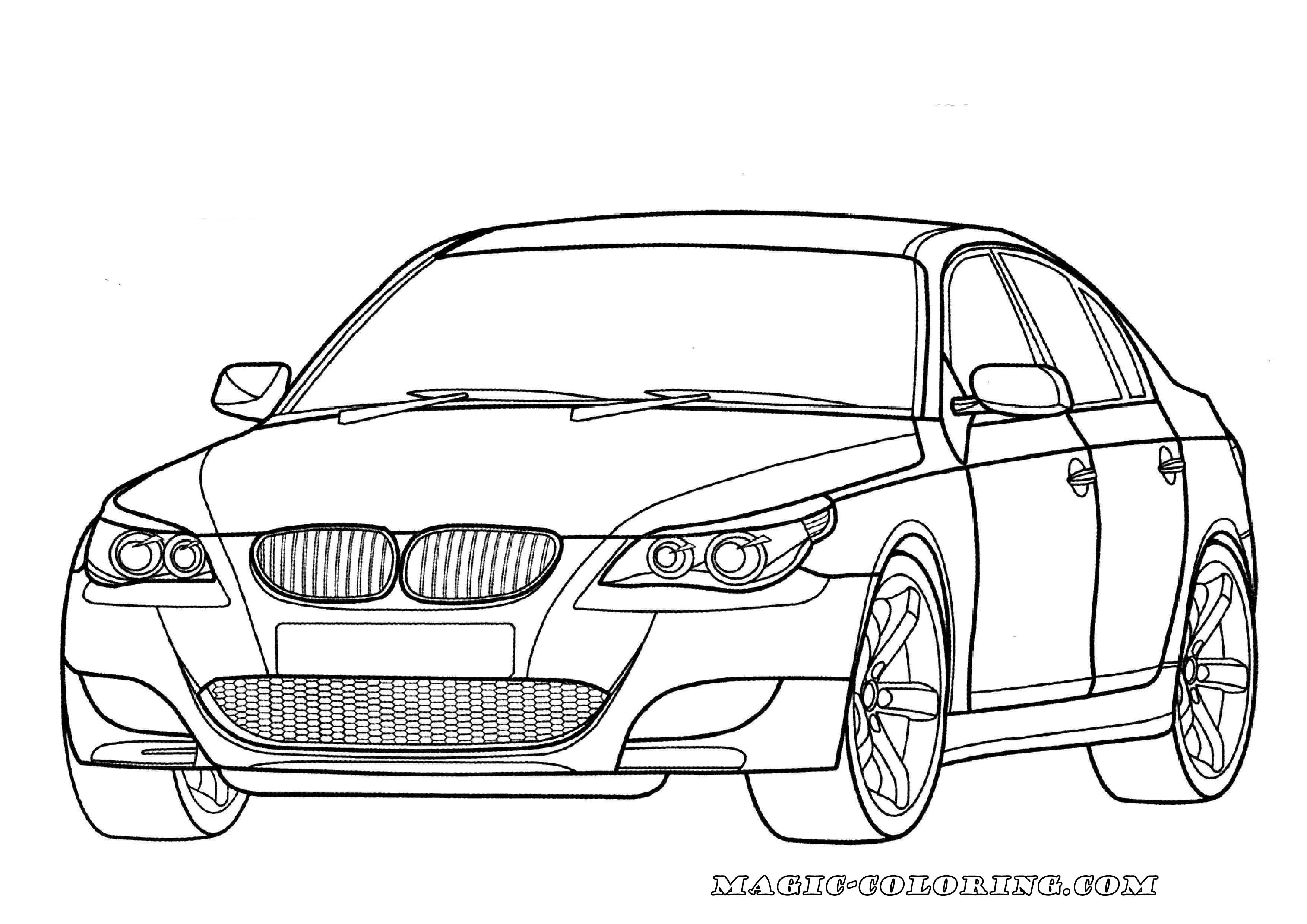 Bmw M5 E60 Coloring Page Cars Coloring Pages Coloring Pages Bmw M5 E60