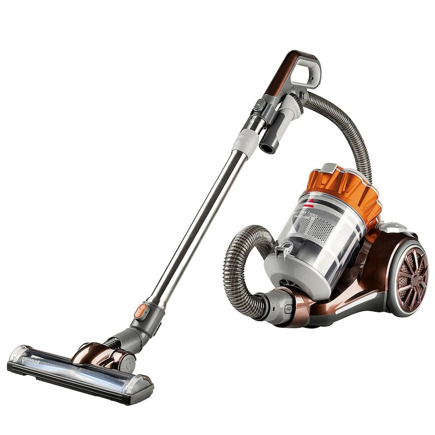 Bissell Hard Floor Expert Canister Vacuum Orange Best Canister