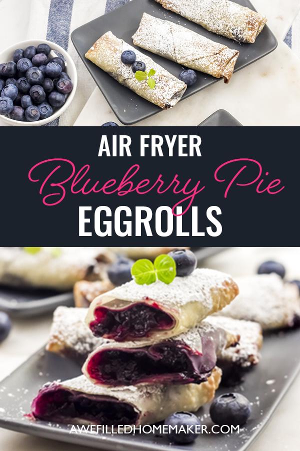 Air Fryer Vegetable Egg Rolls Life Currents appetizer
