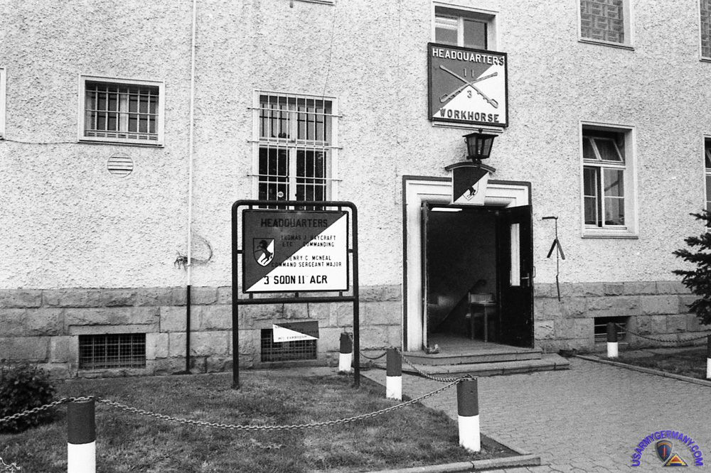 Bad Hersfeld Germany 3rd Squadron 11th Acr Headquarters Building